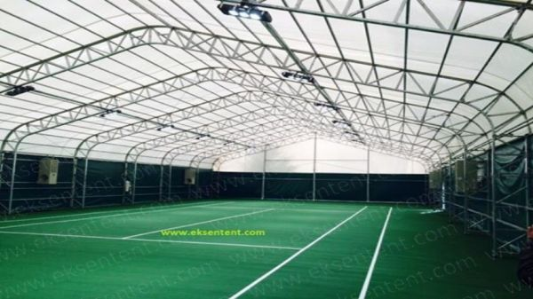THE CLOSURE OF THE TENNIS COURT TENT MARMARA UNIVERSITY